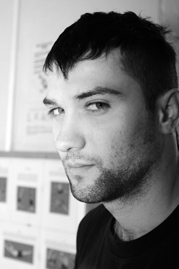 Junge Männer des Portraits lizenzfreies stockfoto