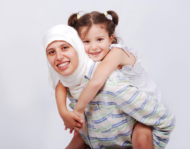 Junge moslemische Frau lizenzfreie stockfotos