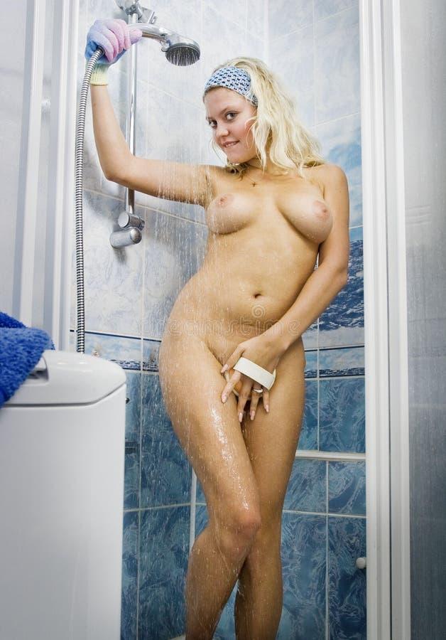 Nackte Frauen Dusche