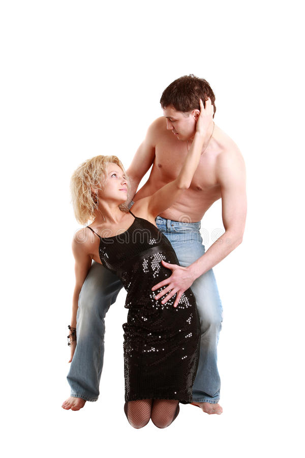 Download Junge Paaraufstellung stockbild. Bild von freund, kaukasisch - 12203031