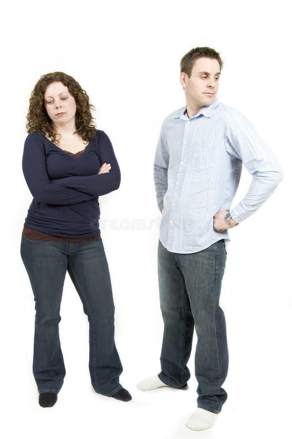 Junge Paare lizenzfreie stockfotografie