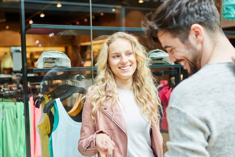 Flirten einkaufen