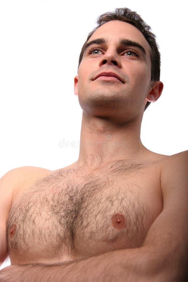 Junge-passender Mann lizenzfreie stockbilder