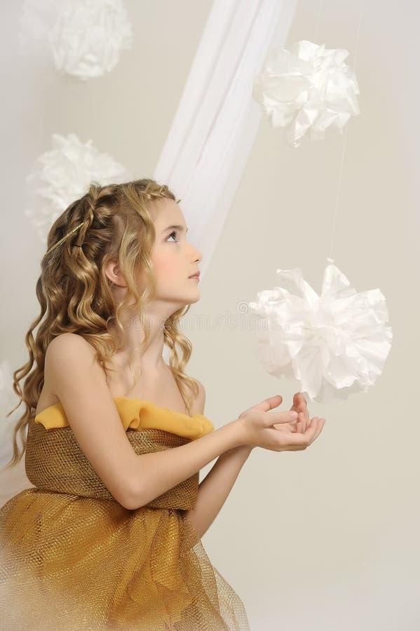 Junge Prinzessin lizenzfreie stockfotografie