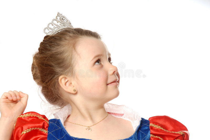 Junge Prinzessin lizenzfreie stockbilder