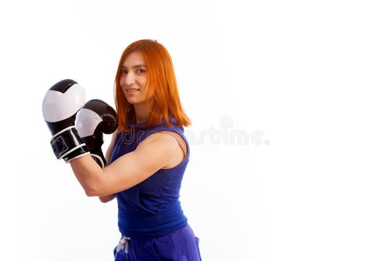 Junge red-haired Frau lizenzfreie stockfotos