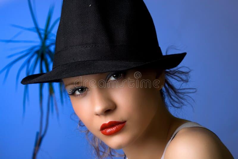 junge schöne blondy Frau lizenzfreie stockfotografie