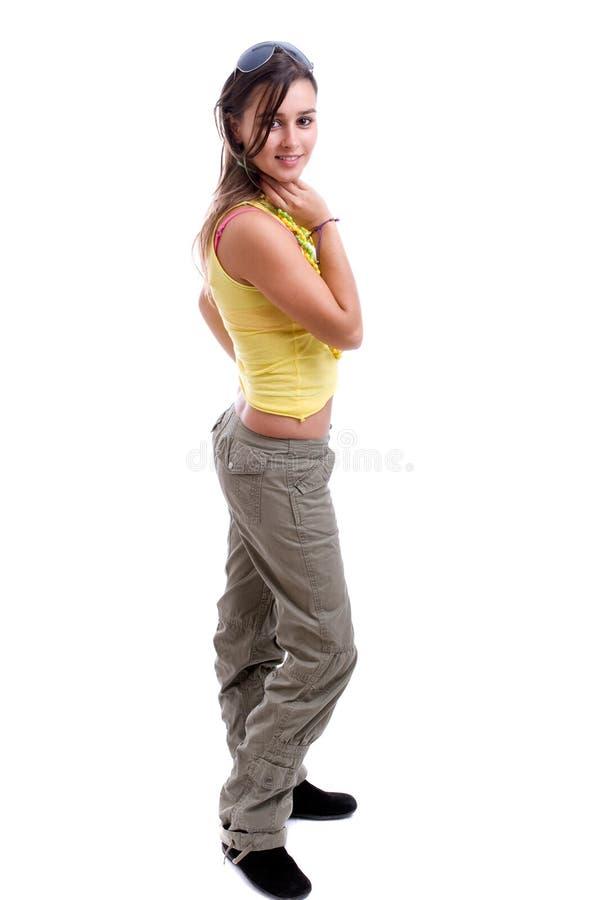Junge schöne Frau lizenzfreies stockfoto