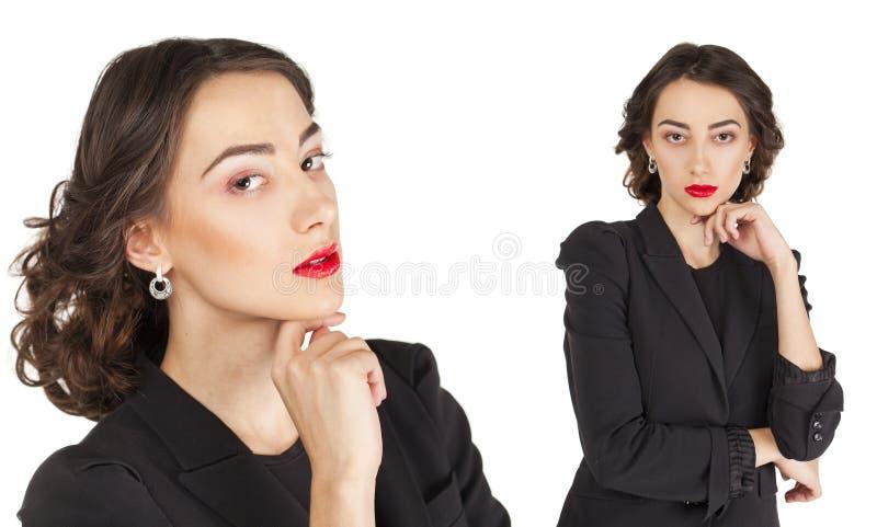 Junge schöne Frauen lizenzfreies stockbild