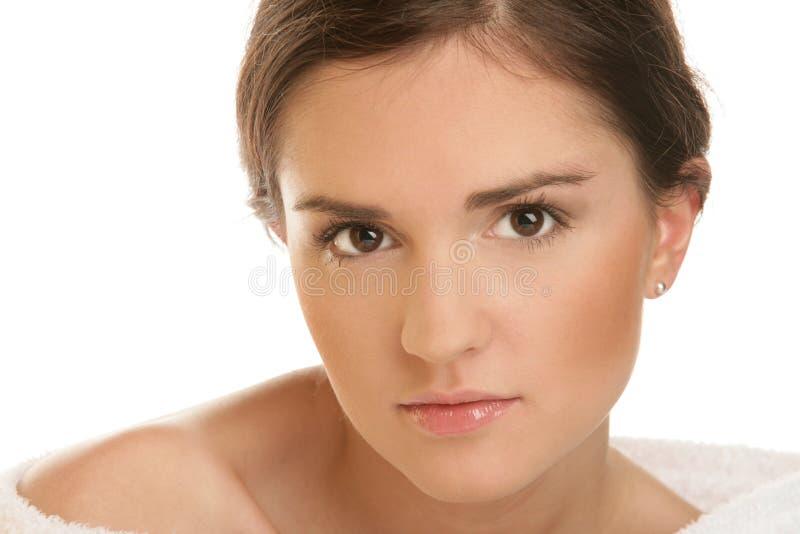 Junge Schönheitsfrau lizenzfreies stockfoto