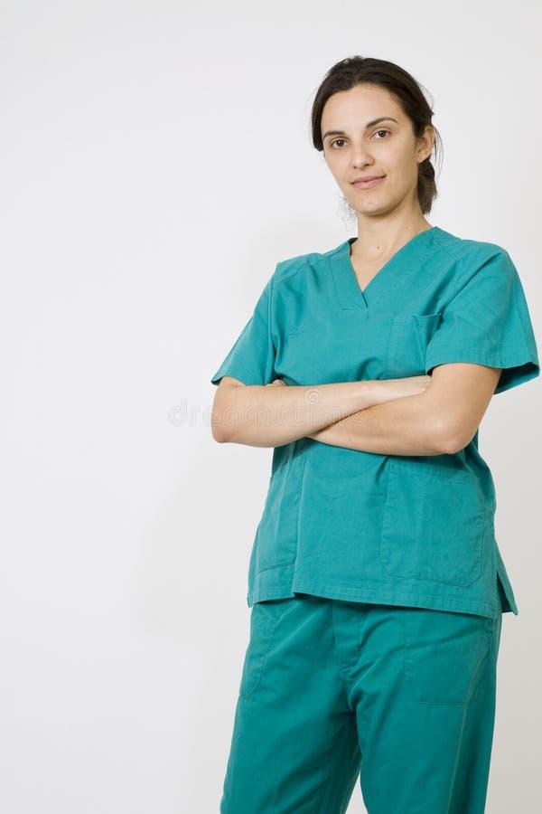 Jungekrankenschwester stockfoto