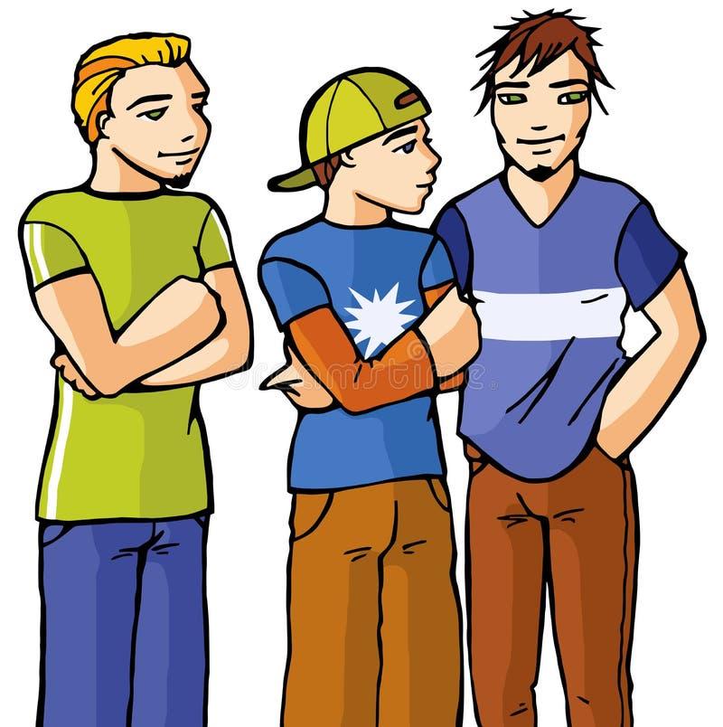 Jungen lizenzfreie abbildung