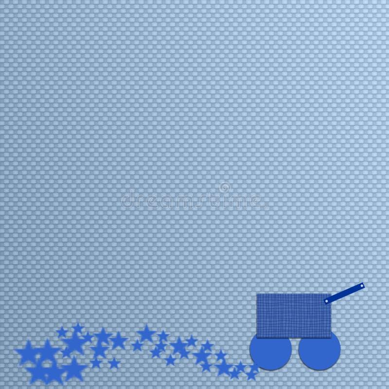 Jungen-Baby-Hintergrund-Schablone lizenzfreie stockfotografie