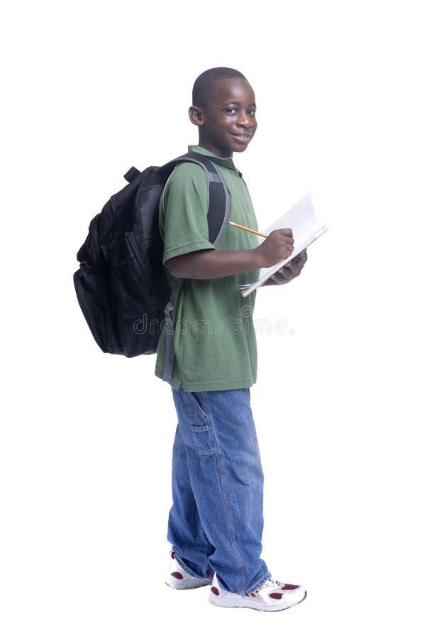 Jungen-Kursteilnehmer lizenzfreie stockfotos