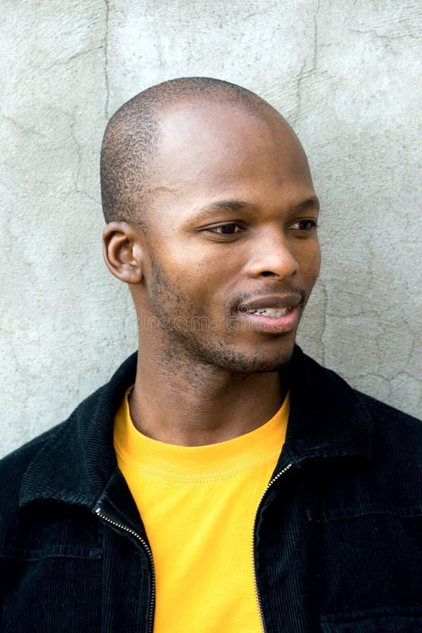 Junger afrikanischer Mann stockfoto