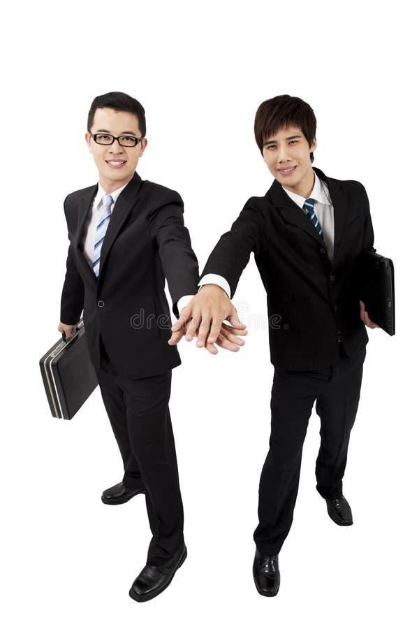 Junger asiatischer Geschäftsmann zwei lizenzfreies stockbild