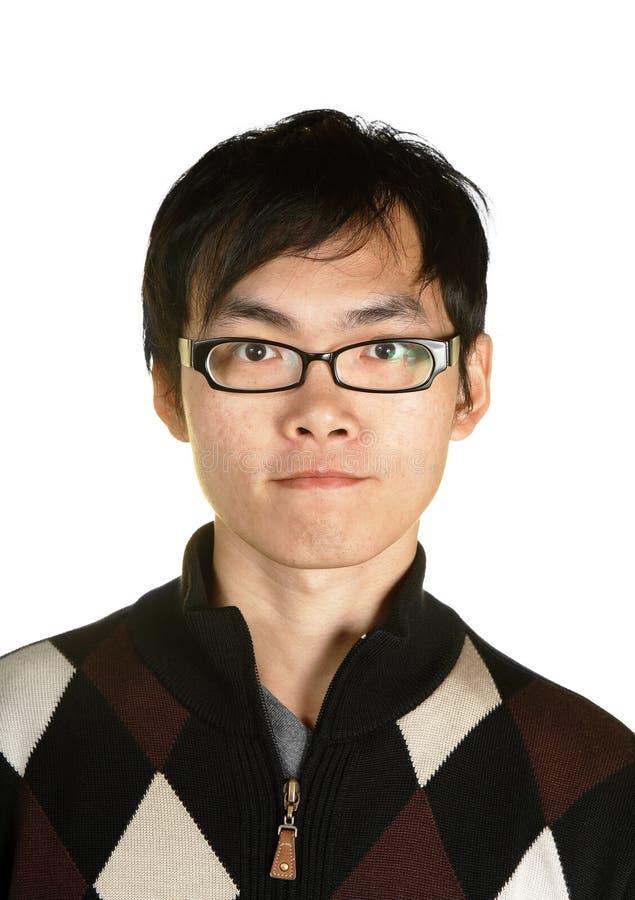 Junger asiatischer Mann stockbilder