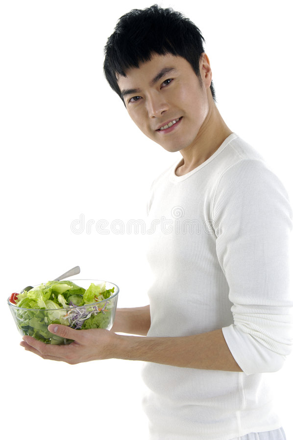Junger asiatischer Mann lizenzfreies stockbild