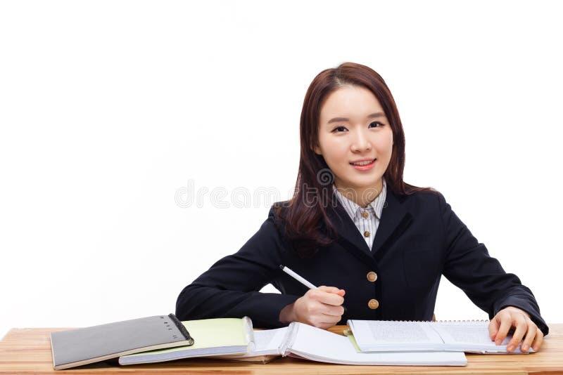 Junger asiatischer Student lizenzfreies stockbild