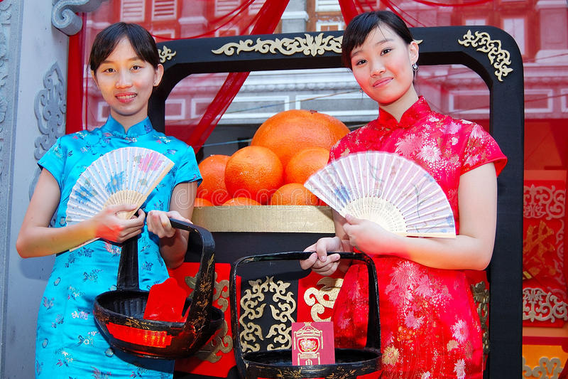 Junger chinesischer Teenager