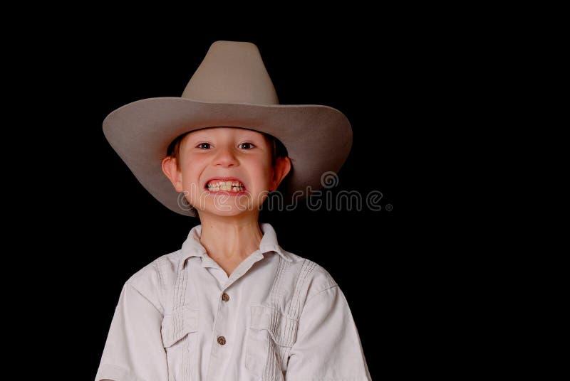 Junger Cowboy lizenzfreie stockfotografie