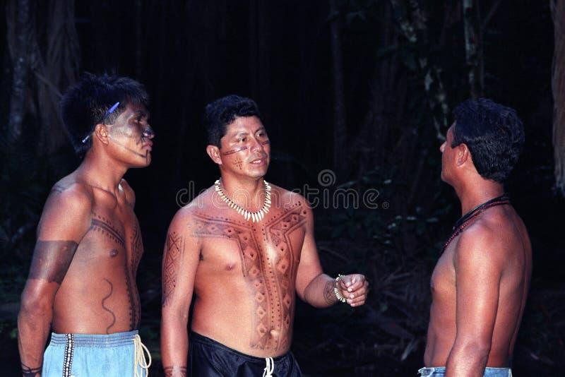 Junger gebürtiger Inder von Brasilien lizenzfreie stockfotos