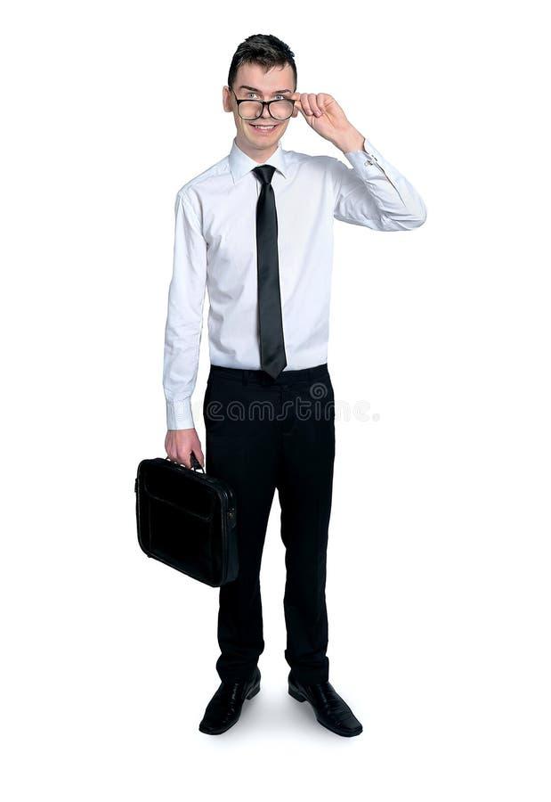 Junger Geschäftsmann stockfotografie