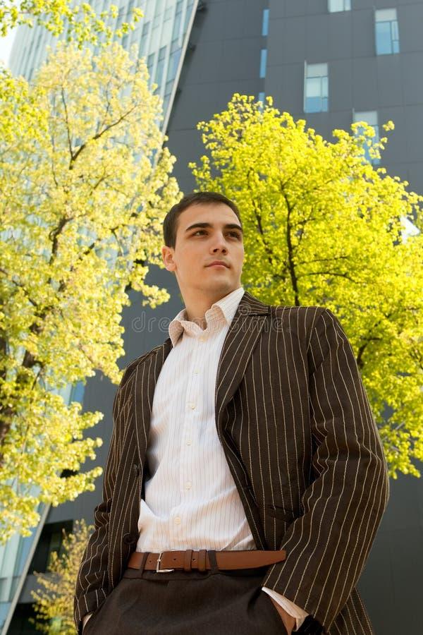 Download Junger Geschäftsmann stockfoto. Bild von kaukasisch, erfüllt - 9087826