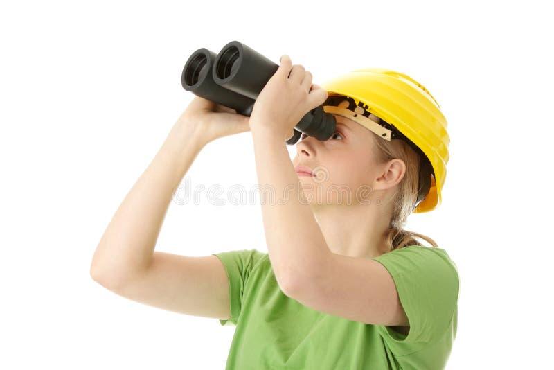 Junger Ingenieur stockfoto
