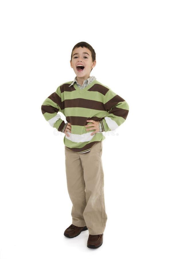 Junger Junge stockfoto