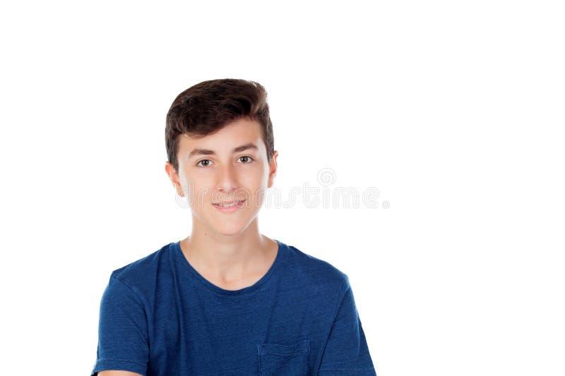 Junger kaukasischer Kerl Browns lizenzfreie stockfotografie
