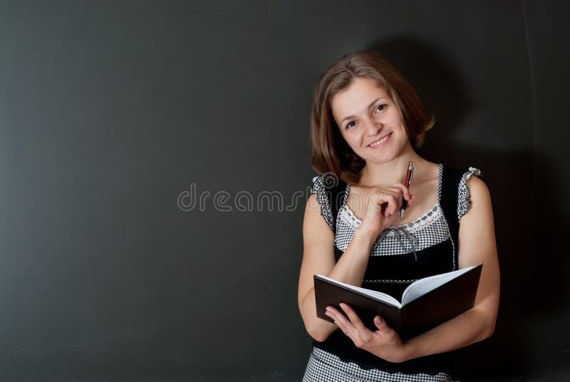 Junger Lehrer lizenzfreie stockbilder