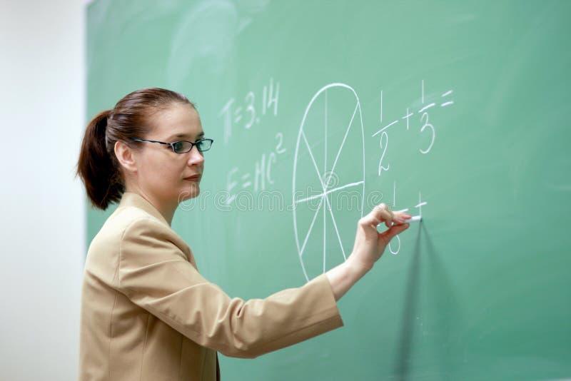 Junger Lehrer stockfotos