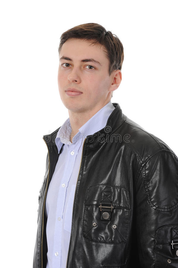 Junger Mann lizenzfreies stockbild