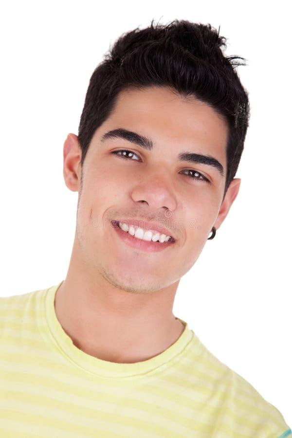 Junger Mann-Lächeln lizenzfreies stockfoto