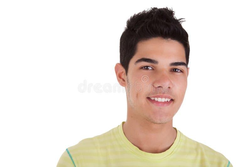 Junger Mann-Lächeln lizenzfreie stockfotos