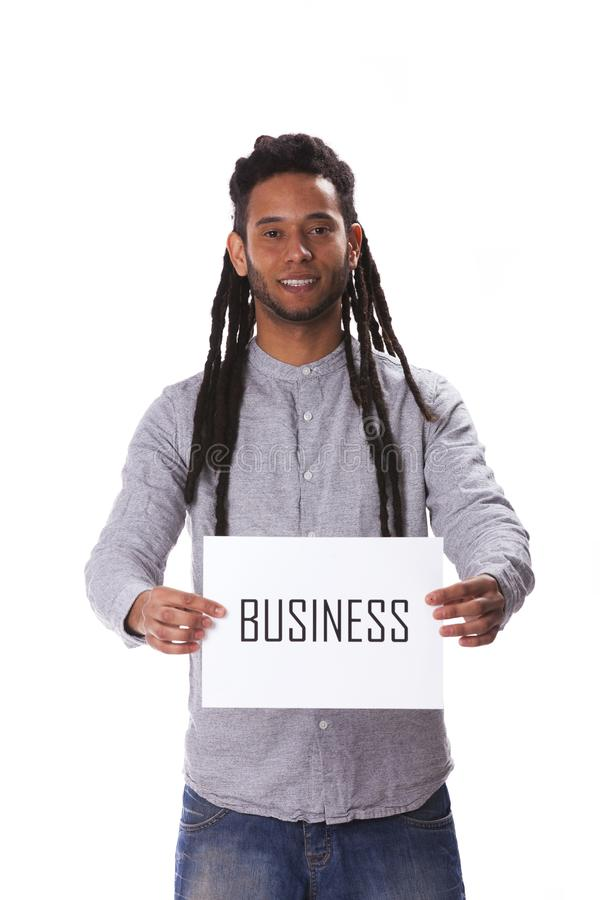 Junger Mann Rastafari stockfotos
