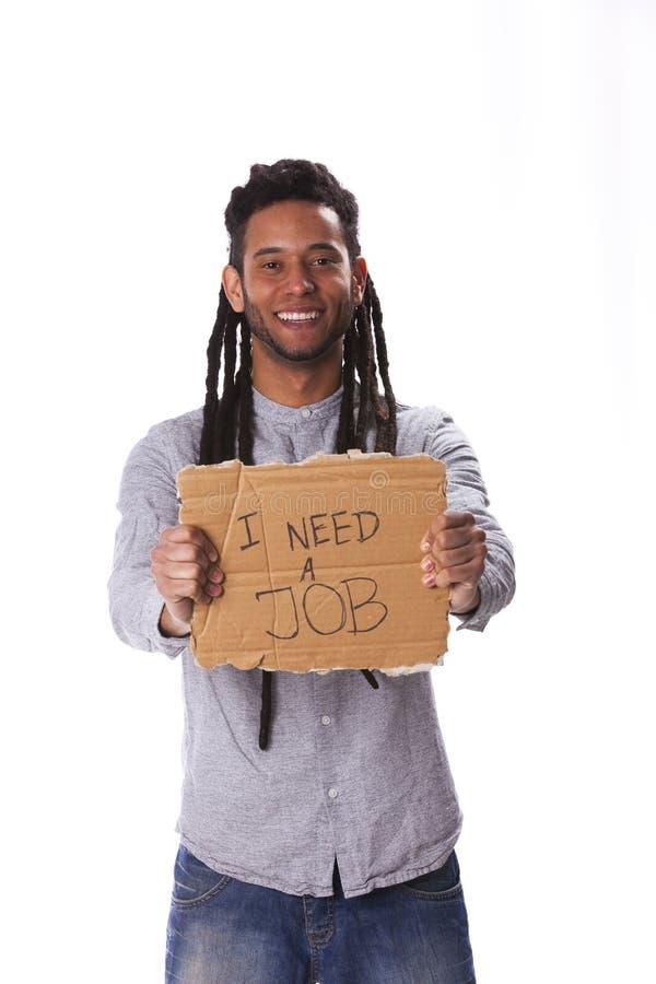 Junger Mann Rastafari lizenzfreie stockfotos