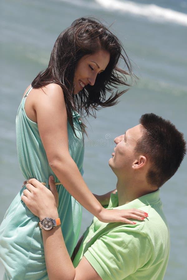 Junger Mann und Frau stockfotos
