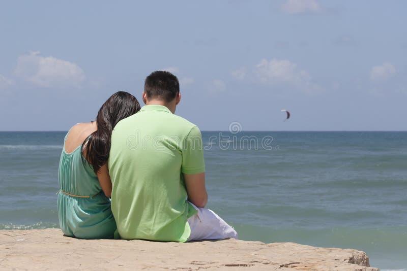 Junger Mann und Frau lizenzfreies stockbild