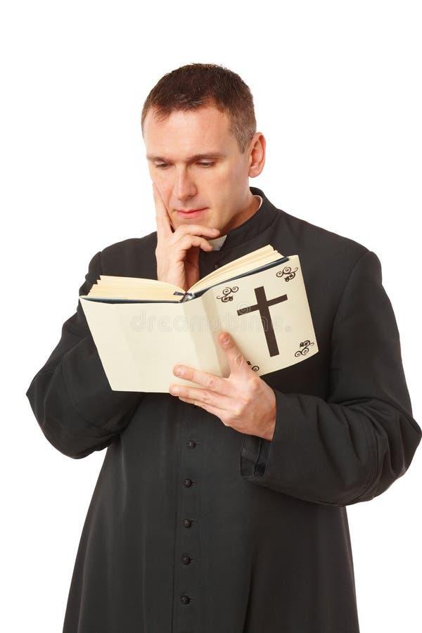 Junger Priester stockbilder
