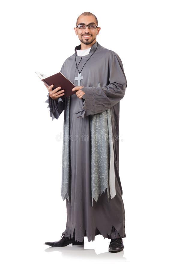 Junger Priester stockfotografie
