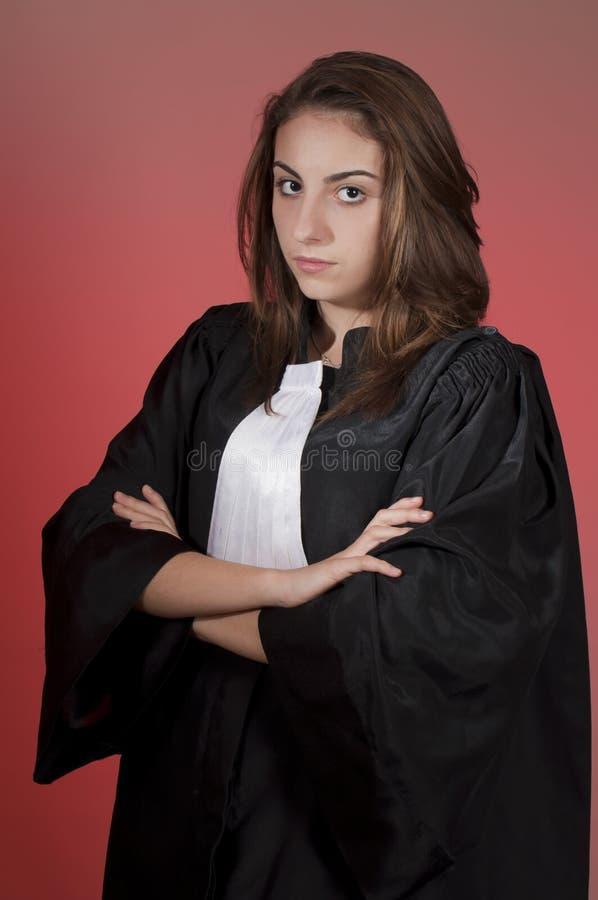 Junger Rechtsanwalt stockbilder