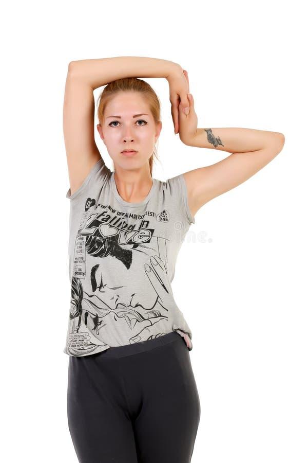 Teen Yoga-Hose Rothaarige Kinder Pullover
