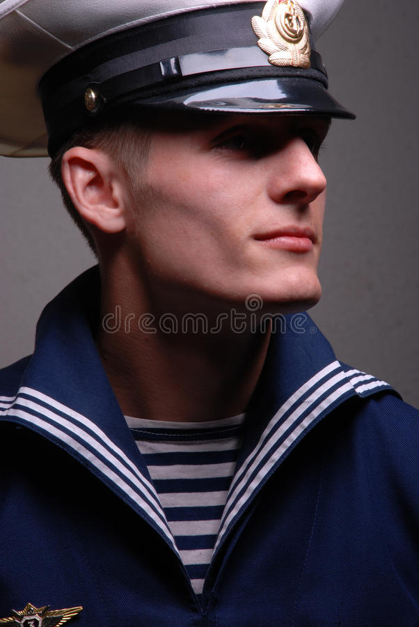 Junger Seemann stockfoto