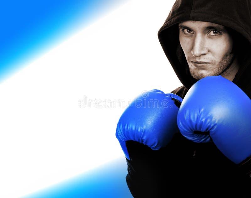 Junger stattlicher Boxer lizenzfreies stockbild