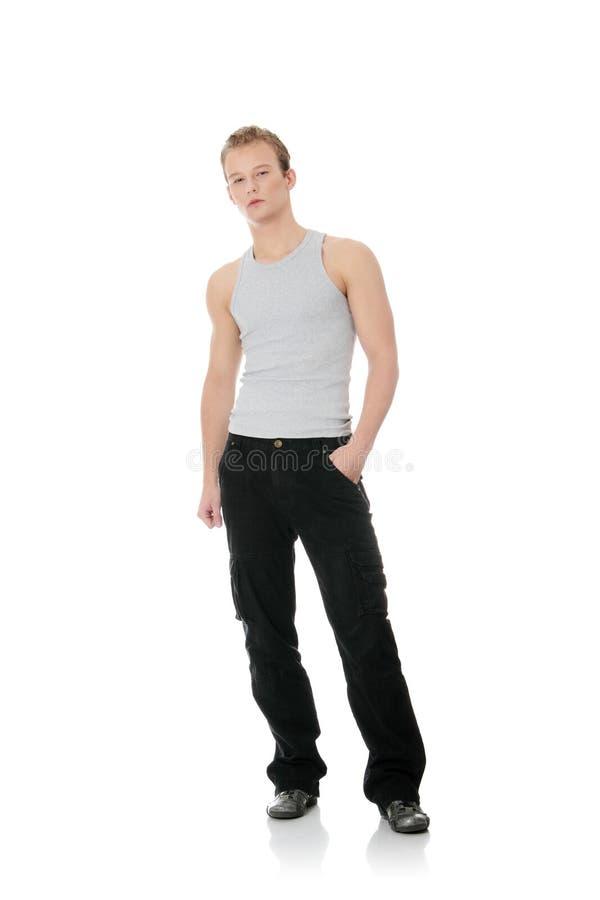Junger stattlicher Mann stockfotos