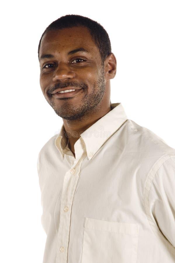 Junger stattlicher schwarzer Mann stockbilder