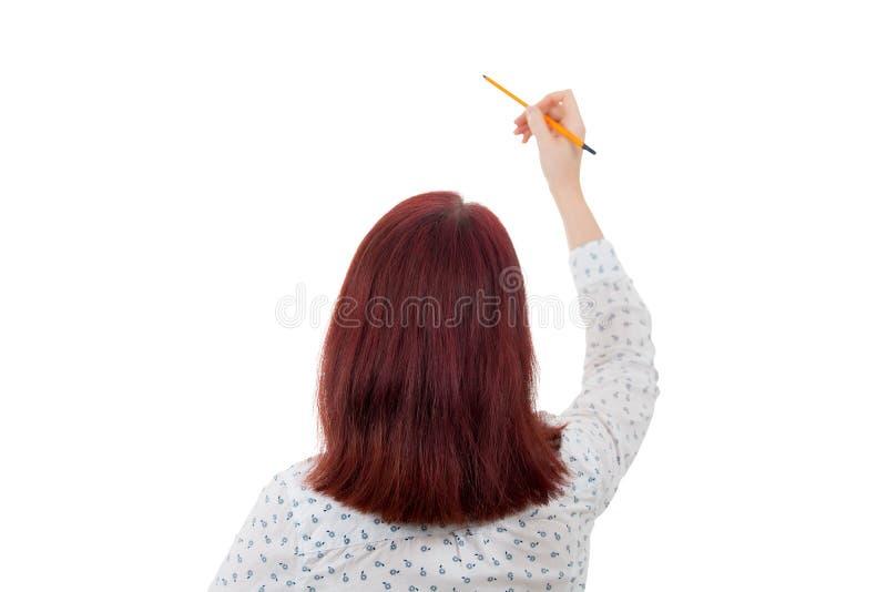 Junger Student Businesswoman stockbild