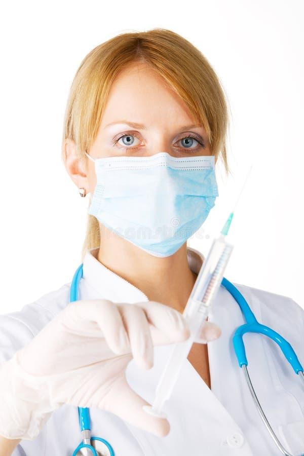 Junger weiblicher Doktor lizenzfreies stockfoto